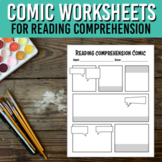 Make a Comic Printable Activity / Reading Comprehension Summary