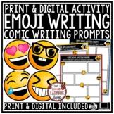 Emoji Writing -Back to School Writing Prompts- 3rd Grade, 4th Grade, 5th Grade