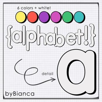 Comic {alphabet} - commercial use