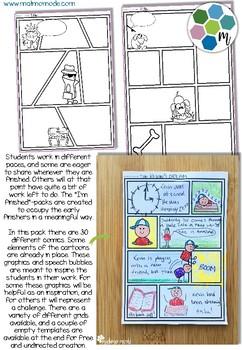 Comic and Cartoon Creative Tasks