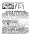 Comics and Graphic Novels Art Lesson Papers