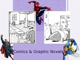 Comics and Graphic Novels Art Lesson Powerpoint