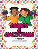 Comics and Quotations