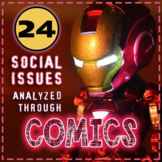 Social Issues Analyzed Through Comics: FULL VERSION