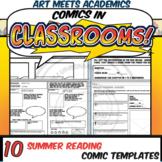 Comics in Classrooms-10 Summer Reading Comic Templates