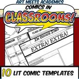 Comics in Classrooms-10 Literature Comic Templates