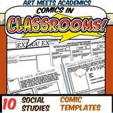 Comics in Classrooms-10 Social Studies Comic Templates