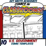 Comics in Classrooms-10 U.S. Government Comic Templates