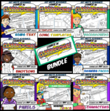 Comics in Classrooms: Full Bundle Lessons 1-11 (3 Weeks of