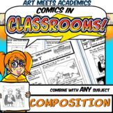 Comics in Classrooms Lesson: Composition for Comic Projects