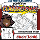 Comics in Classrooms Lesson: Drawing Emotions and Feelings