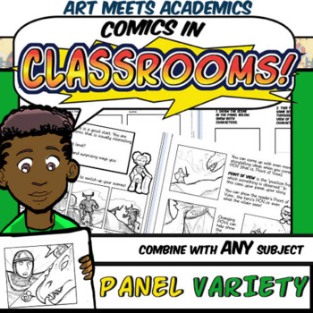 Comics in Classrooms Lesson: Panel Variety and POV
