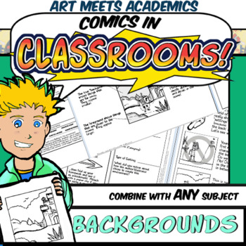 Comics in Classrooms Lesson: Settings and Backgrounds