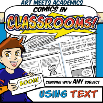 Comics In Classrooms Lesson Using Comic Book Onomatopoeia And Text