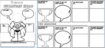 Comics in Classrooms-School Counselor Edition! Comic Project and Templates!