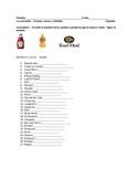 Spanish Food-Comida Worksheets