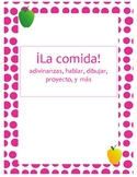 Comida! Activities and projects for learning Spanish food Vocabulary