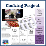 Comida Cooking Project Lesson