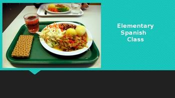 Comida: El Almuerzo PPT