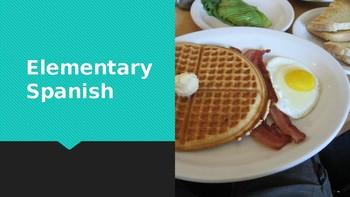 Comida: El Desayuno PPT