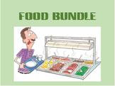 Comida (Food in Portuguese) Bundle