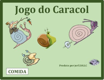Comida (Food in Portuguese) Caracol Snail Game