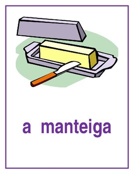 Comida (Food in Portuguese) Posters