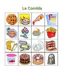 Comida (Food in Spanish) Bingo