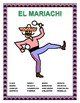 "Mexican Food Description Web Search & Label ""El Mariachi- Body Parts /Clothes"