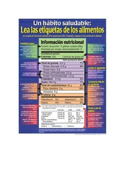 Comida- Nutrition Labels