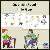 Comida Oral Info Gap Activity