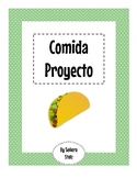 Comida Proyecto: Learn about and Share Food from Spanish S