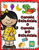 Comida Saludable o No Saludable Sort It Out Activities