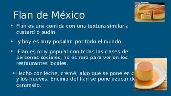 Comida de los Paises Hispanos