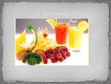 Food & Drink Review Spanish