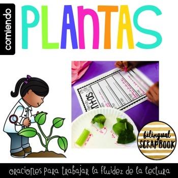 Comiendo Plantas (Parts of a Plant) FREEBIE