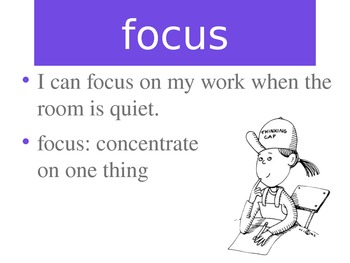 Coming Distractions Vocabulary PowerPoint
