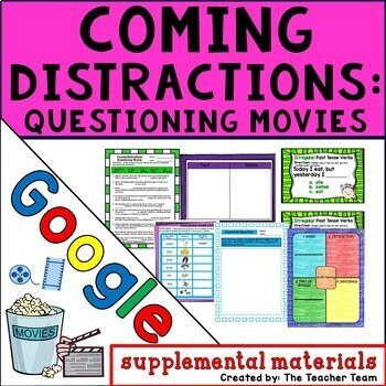 Coming Distractions Questioning Movies Journeys 4th Grade Unit 2 Lesson 7 Google