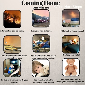 Coming Home After the Fire (for children of the Fort McMurray Fire)