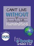 Free Humanities eBook - Social Studies, ELA, Foreign Language, Arts
