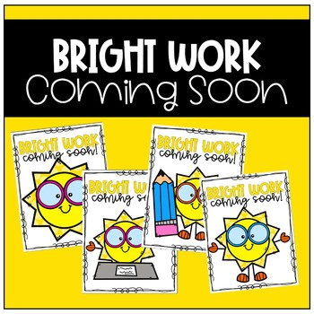 Work Coming Soon Poster (Brights/Sun)
