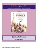 Coming To America- Guided Reading (O) Lesson Plan & Graphi