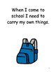 Coming To School Social Story