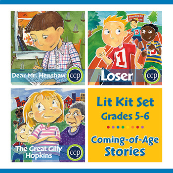 Coming-of-Age Stories Lit Kit Set - BUNDLE Gr. 5-6