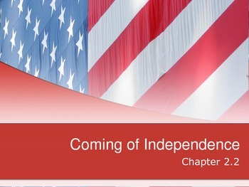 Coming of Independence