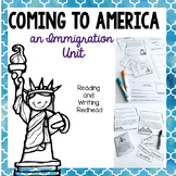Immigration Unit | Task Cards Vocabulary Reading Passages