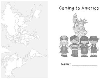 Coming to America Comprehension Mini Book