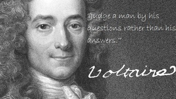 Coming to Conclusions ~ The Story of Voltaire ~ Part 3 ~ Question & Answer