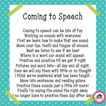 """Coming to Speech"""