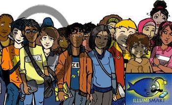 CommUNITY Classroom High School Set 2:  28 Piece Clip-Art of Diverse Students!